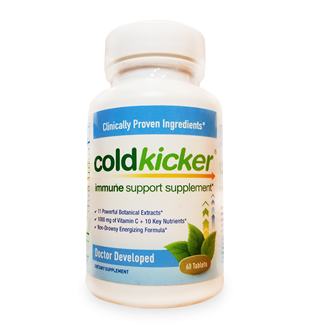 Coldkicker® 60 Tablets: One-Time